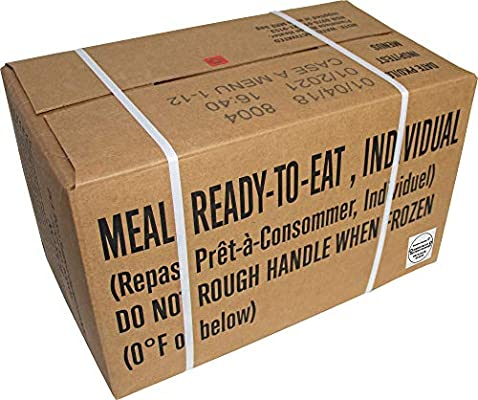Western Frontier 2021 MRE and up Inspection Date, 2018 Pack Date, MRE, Meals Ready-to-Eat Genuine US Military Surplus Inspection