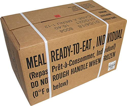 Western Frontier 2021 and up Inspection Date, 2018 Pack Date, Meals Ready-to-Eat Genuine US Military Surplus with Western Frontier's Inspection