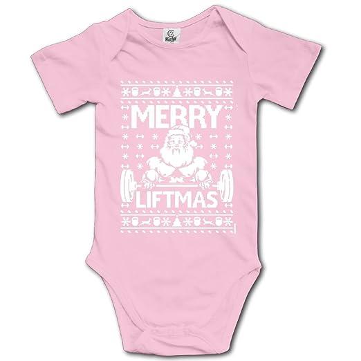 amazoncom banjiaj baby bodysuit ugly christmas sweater babys sleeveless climbing suits outfits pink clothing - Pink Ugly Christmas Sweater