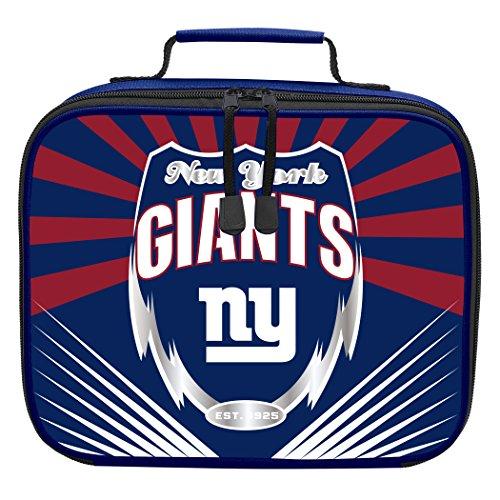 The Northwest Company Officially Licensed NFL New York Giants Lightning Kids Lunch Kit, - York New Box Lunch Giants