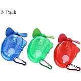 Generic Carabiner Water Misting Fan Portable Mini Fan 3 Piece Set
