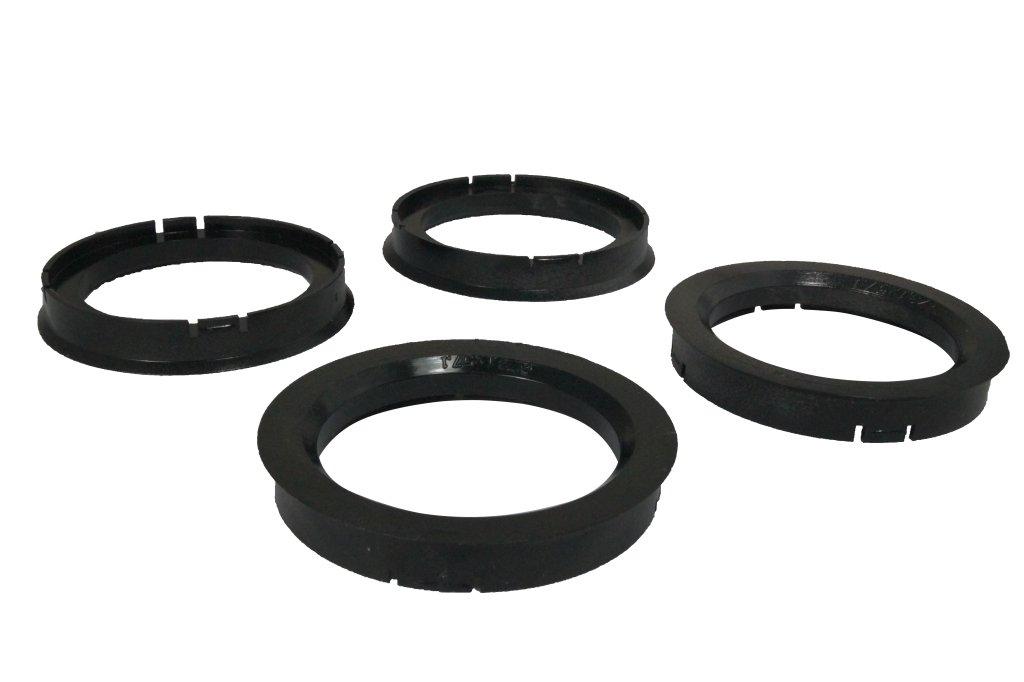 4 Zentrierringe 73, 1 mm - 57, 1 mm WamSter
