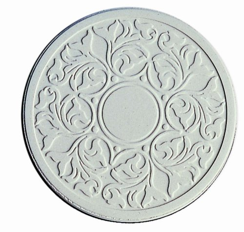 CoasterStone EC400 Absorbent Coasters, 4-1/4-Inch,Victorian Lace, Set of 4