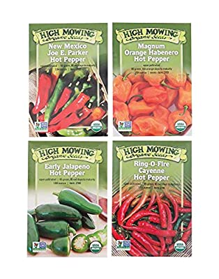 Turn Up the Heat Collection: Organic Hot Pepper Seeds