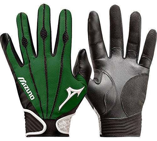 Mizuno Adult Vintage Pro Batting Gloves, Forest, X-Large