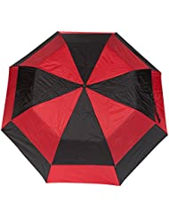 Totes 25-Ounce Stormbeater, Automatic Double Vented Umbrella, 56-inch Canopy, Colors Vary, 3-pack