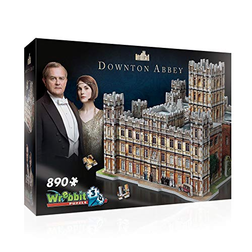 WREBBIT 3D - Downton Abbey 3D Jigsaw Puzzle - 890Piece, Brown/A