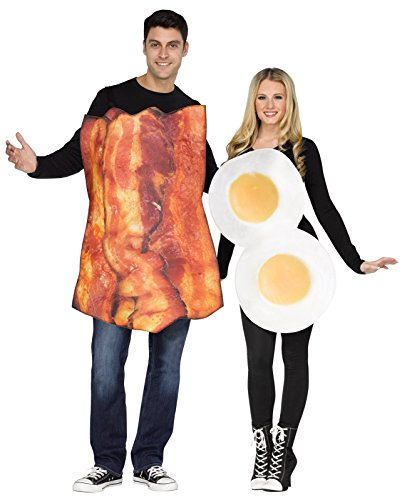 Bacon & Eggs Couples Adult Costume