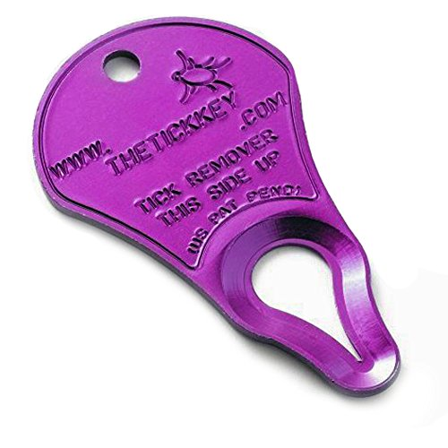 The Tick Key Easy to Use Woodtick & Deertick Removal Device