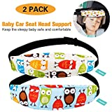 2 Packs Toddler Car Seat Neck Relief and Head Support...