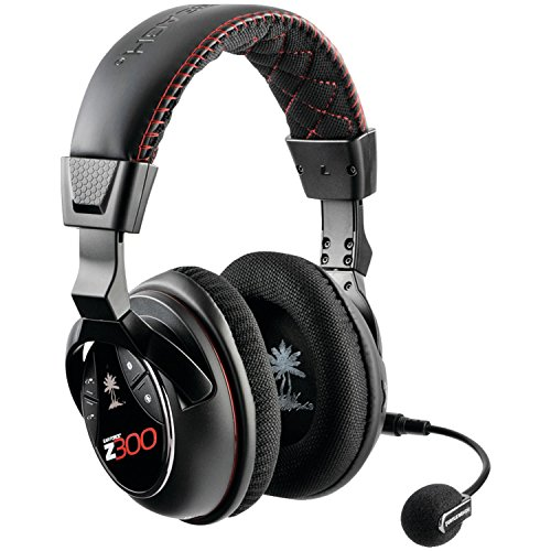 Turtle Beach Ear Force Z300 Wireless Dolby 7.1 Surround Sound PC Gaming Headset (TBS-6060-01)