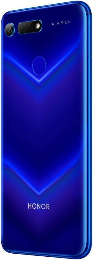 Honor View 20 - Smartphone (Pantalla de 6,4, cámara trasera 48 MP, cámara frontal 25 MP, 6GB RAM, 128 GB, batería 4000mAh) + Honor Cover, color Azul [Versión Española, Exclusivo Amazon]: Amazon.es: Electrónica