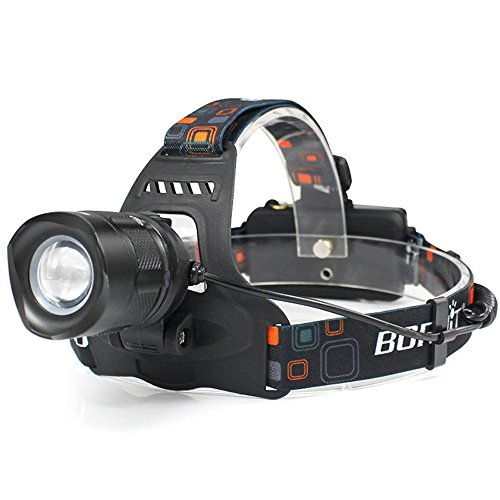 Zmsdt Headlight XM-L2 Glare Zoom USB Charging Outdoor Headlights by Zmsdt