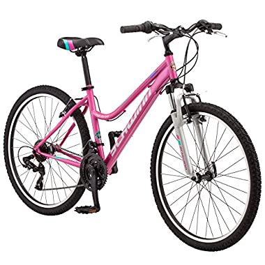 Schwinn Women's High Timber Mountain Bicycle, 16 /Small, Light Purple