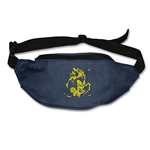 Dragon Ball Z Vegeta Waist Bag For Men Women Navy  2 Colors
