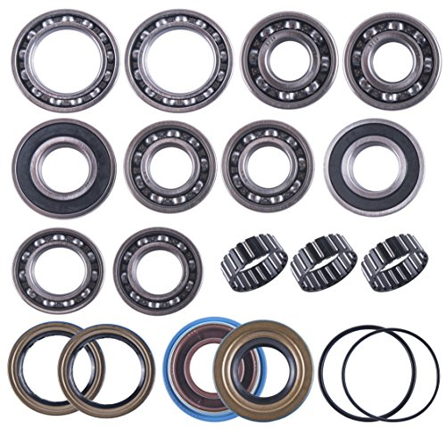 (East Lake Axle rear differential bearing & seal kit compatible with Polaris Sportsman 400/500 2001 2002-2010)