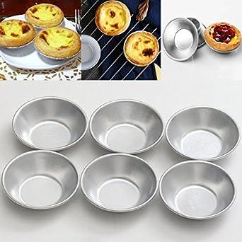 Molde para tartas de la mejor calidad, diseño de huevos de plata, 6 piezas/set de moldes para repostería ...