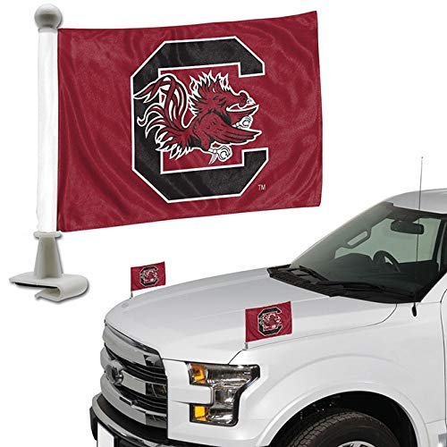ProMark NCAA South Carolina Fighting Gamecocks South Carolina Gamecocks Flag Set 2Piece Ambassador Stylesouth Carolina Gamecocks Flag Set 2Piece Ambassador Style, Team Color, One Size