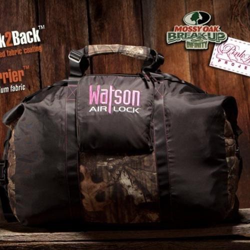 Watson AirLock Camo Carrier (Mossy Oak/Pink)