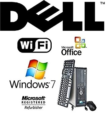 DUAL CORE 2 DUO 3.0GHz FAST 8GB RAM DESKTOP PC 1TB HDD WINDOWS 7 PROFESSIONAL WIFI DESKTOP + MS OFFICE
