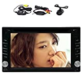 Android 4.2 Car DVD Player With Rear Wireless Camera Bluetooth Music Multi-Touch Bluetooth Car Stereo Receiver In Dash Navigation GPS Ready