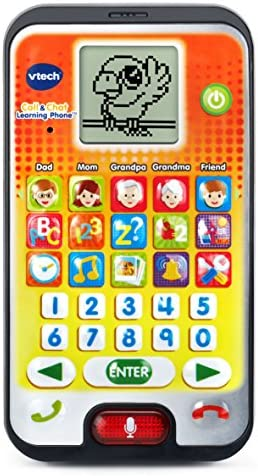 VTech Call And Chat Learning Phone, Orange