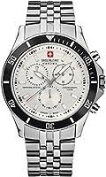 Swiss Military 6-5183.04.001.07 Reloj Clásico para Hombre (Plata, Hombre Estándar)