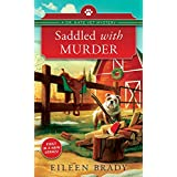 Saddled with Murder: A Veterinarian Cozy Mystery (Dr. Kate Vet Mysteries Book 1)