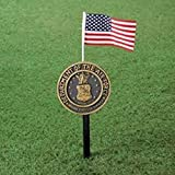 Air Force Military Marker Stake with Flag by LTD