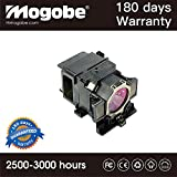 Mogobe For ELPLP73 Replacement Projector Lamp with Housing Fit for projectors by