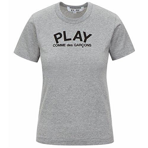 2ac260912c050e Comme des Garcons Play Women s Play Logo   Heart Print T-Shirt P1T071 Grey  (S) - Buy Online in UAE.
