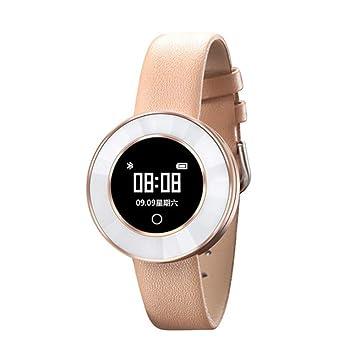 CITTHINKMIC Reloj Inteligente, Mujer, aleación + cerámica, pedomete Ritmo cardíaco.