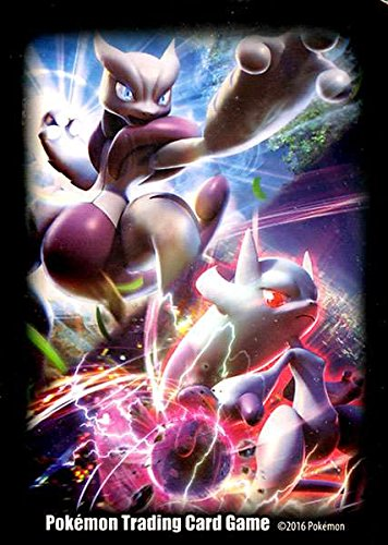 Pokemon Card Supplies Mega Mewtwo X & Mega Mewtwo Y Card Sleeves by Pokemon Company International