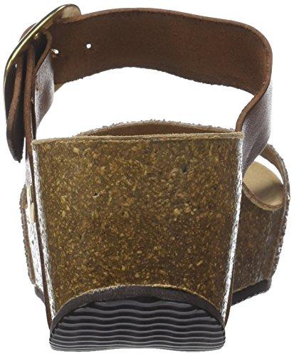 Papille Mules bronze Tropéziennes M Les Femme Par Belarbi Marron tan Glitter q7fwnIx
