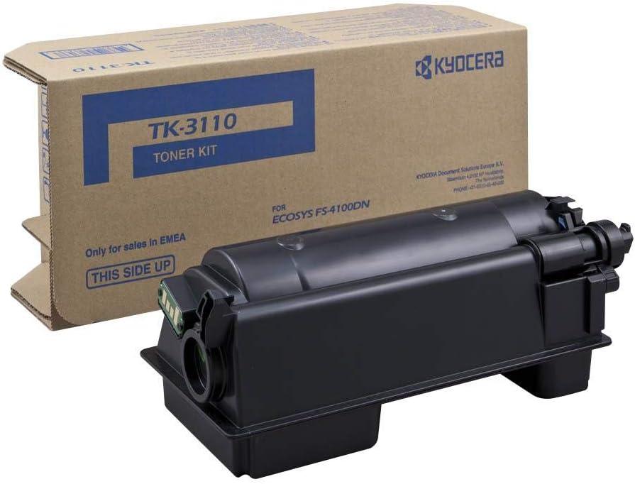 Kyocera Tk 3110 Original Toner Kartusche 1t02mt0nls Schwarz Kompatibel Für Fs 4100dn Fs 4200dn Fs 4300dn Bürobedarf Schreibwaren