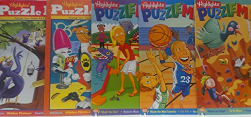 5 Volume Set of Highlights Young Fun From Puzzlemania