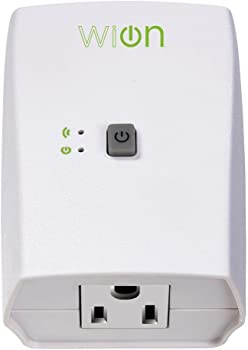 WiOn 50050 Indoor WiFi Plug with 1 Grounded Outlet