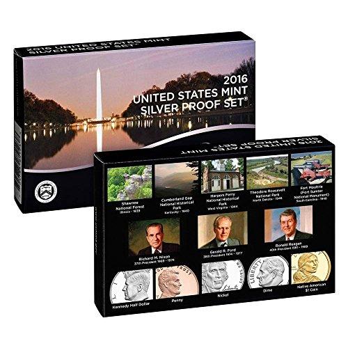 2016 US Mint Silver Proof Set DCAM Proof OGP