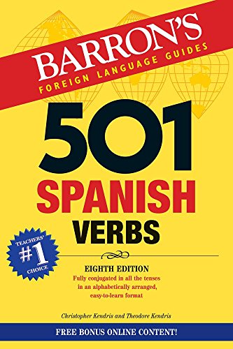 501 Spanish Verbs (Barron's 501 Verbs) (Best Italian Learning Resources)