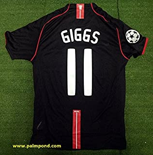 8c0c98d6c15 Retro Ryan Giggs 11 Manchester United Soccer Jersey 2007 Full UCL. Patch