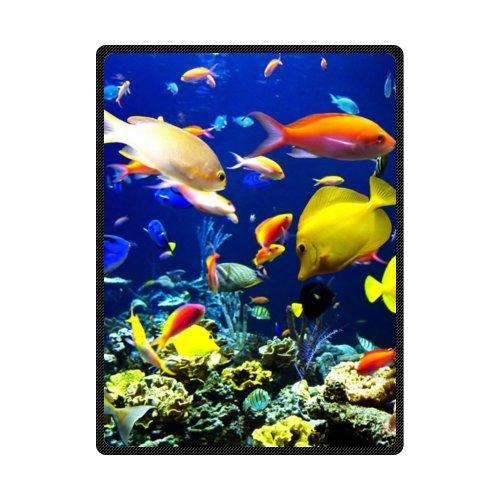 高品質、快適なCoral Reef Life魚カスタムBlanket 58