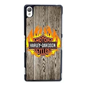 Pattern Hard Case Cover Sony Xperia Z3 Cell Phone Case Black Harley Davidson Tzotq Back Skin Case Shell