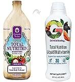 Genesis Today LIQUID Vegetarian Total Nutrition Vitamin Mineral Supplement 30 Organic Superfoods - 32 fl. oz