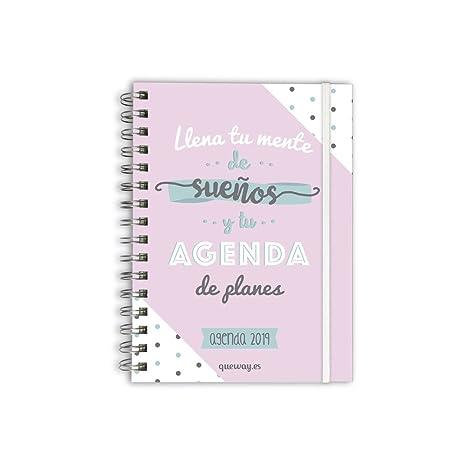"""Agenda 2018-2019 Semana Vista""""Llena tu mente de sueños y tu agenda de"""