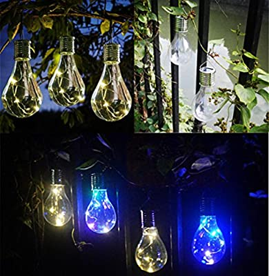 Nightlight,YJYdada Waterproof Solar Rotatable Outdoor Garden Camping Hanging LED Light Lamp Bulb
