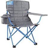 Kelty Kids Camp Chair, Smoke/Paradise Blue