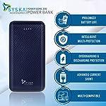 Syska 20000 mAh Li-Polymer P2006J Power Core200 Power Bank (Blue)