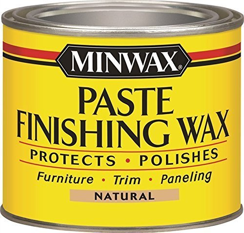 Minwax Paste Finishing Wax Natural 78500 1 Pound In The