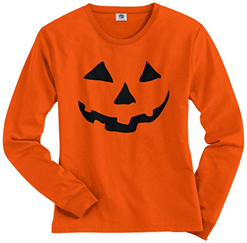 Women's Pumpkin Face T-shirt