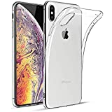 Feiven for iPhone Xs case/iPhone X Case iPhone Xs Cover Premium Clear Soft TPU Gel Ultra-Thin Transparent Flexible Cover-5.8